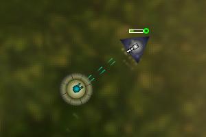 《圆形战斗机》游戏画面1