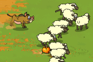 《野猪放羊》游戏画面1