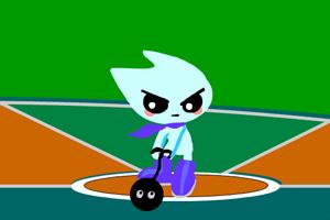 《小家伙扔链球》游戏画面1
