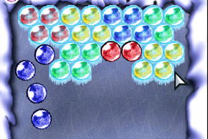《冰冻的泡泡》游戏画面1