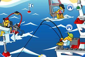《乐高海上乐园》游戏画面1