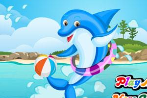 《快乐的海豚》游戏画面1