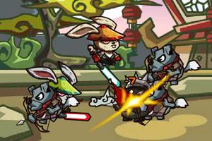 《功夫兔子》游戏画面1