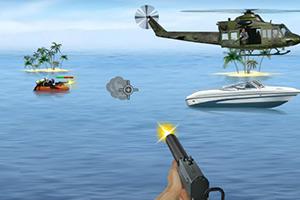 保卫海上游艇