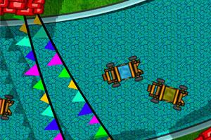 《四轮车比赛》游戏画面1
