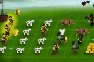 乐高农场保卫战
