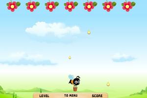 《小蜜蜂接蜂蜜》游戏画面1