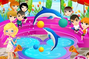 《海豚表演》游戏画面1