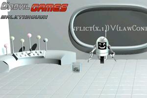 《失落的机器人》游戏画面1