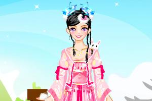 《可爱古装兔公主》游戏画面1