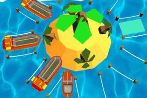 《3D港口停船》游戏画面1