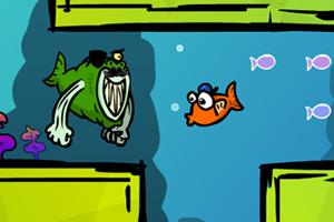 《小鱼历险记》游戏画面1