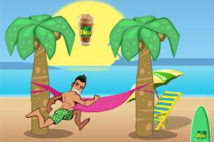 《沙滩男人》游戏画面1