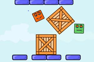 《新弹跳的盒子》游戏画面1