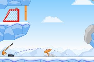 《冰球进网增强版》游戏画面1