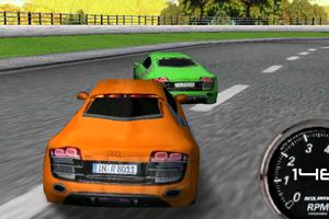 《3D公路漂移赛》游戏画面1