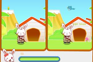 《兔小贝找茬》游戏画面1