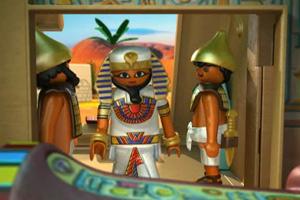 《埃及法老打盗贼》游戏画面1