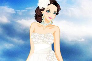 《海滩婚纱礼服》游戏画面1