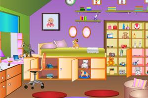 《儿童卧室》游戏画面1