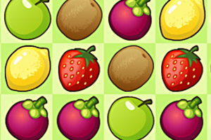 《水果对对碰HD》游戏画面1
