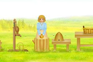 《花园采蜂蜜》游戏画面1