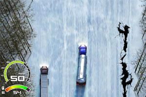 《雪地大卡车》游戏画面1