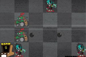 《僵尸入侵战》游戏画面1