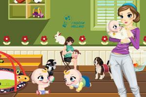 《布置小宝贝房间》游戏画面1