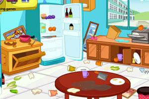 厨房大清扫
