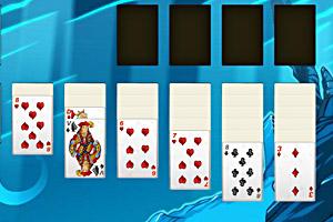 《扑克牌大接龙》游戏画面1