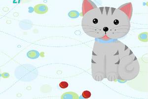 《小猫弹弹球》游戏画面1