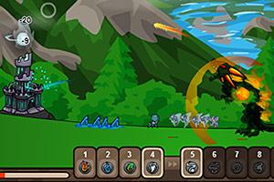 《四系魔法防御》游戏画面1