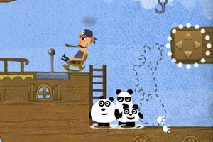 《小熊猫逃生记选关版》游戏画面1