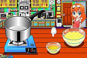 《辣味玉米虾仁沙拉》游戏画面1