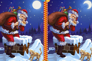 《圣诞找茬》游戏画面1