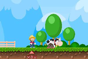 《超级农夫打鼹鼠》游戏画面1