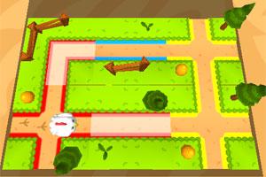 《3D小鸡回家》游戏画面1