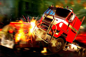 《3D大卡车驾驶》游戏画面1