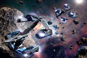 《太空防御战找数字》游戏画面1