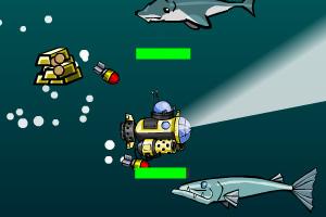 《深海探测艇变态版》游戏画面1