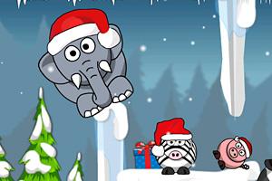 《叫醒打鼾的大象2冬季选关版》截图1