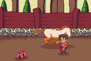 《骑士斗独角兽》游戏画面1