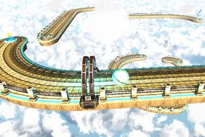 《3D天空小球》游戏画面1