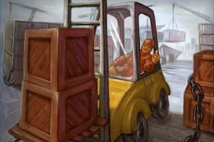 《美国叉车增强版》游戏画面1
