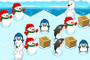 《企鹅冬季派对》游戏画面1