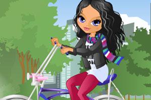 《莱拉爱骑车》游戏画面1
