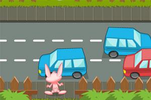 《小兔子过马路》游戏画面1