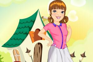 《可爱农场女孩》游戏画面1