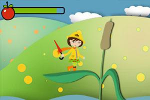 《可爱女生森林冒险》游戏画面1